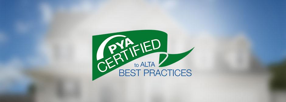Alta Certified